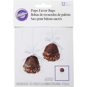 Wilton Pops Favors Bag 12 ct