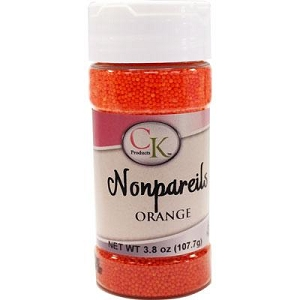 CK Orange Nonpareils 3.8 oz