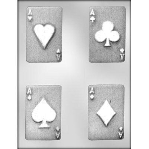 Playing Card Chocolate Mold