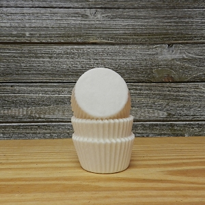 White Mini Baking Cups 500 ct