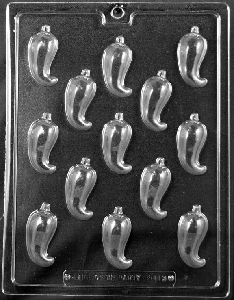 Chili Pepper Chocolate Mold