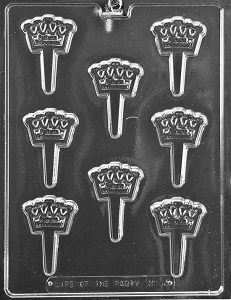 Future Princess Cake Pick Chocolate Mold