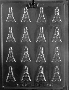 Bite Size Effel Tower Chocolate Mold